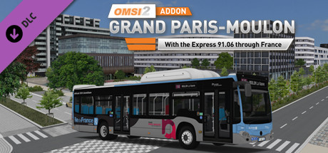 Download OMSI 2 Add-on Grand Paris-Moulon Free PC Game